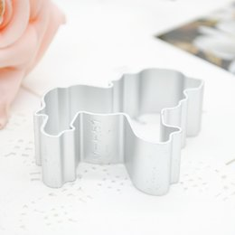 Wholesale Lion Mold - Wholesale- Lion Shape Aluminum Alloy Animal Fondant Cake Biscuit Cutter Cookie Decorating Mold Mould Pastry Bakeware Tools