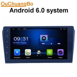 Wholesale Chinese Car Stereo Systems - Ouchuangbo car audio gps nav stereo for Mazda 3 real pohto with SWC USB BT AUX 3g wifi 4*45 android 6.0 system