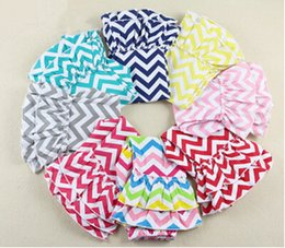 Wholesale Cheap Chevron - Cotton Summer Girls Leggings ,Cheap Double Ruffle Baby Girls Pants ,Custom Girl Chevron Pants For kids
