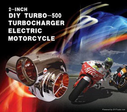 Wholesale Manifold Intake - MOTO REFIT 2 INCH DIY TURBO-500 TURBOCHARGER ELECTRIC MOTORCYCLE Motorcycle electric turbocharger suite For MotorBike