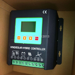 Wholesale Solar Hybrid Charge Controller - 30A 12V 300W wind 200W solar MPPT Wind Solar Hybrid charge Controller with Boosting function