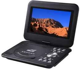 """Wholesale Portable Picture Player - 9.8"""" Portable EVD DVD Player TV USB SD Games JPG Picture Radio Swivel LCD Screen"""