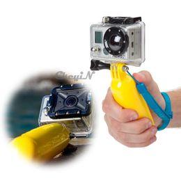 Wholesale Monopod Stabilizer - Gopro Bobber Floating Handheld Floaty Grip Stabilizer Monopod For Gopro Hero 3 4 SJ4000 SJ5000 Go Pro Accessories Kit 0.3-ZP004 order<$15 no