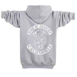 Wholesale Black Light Sweater - MEN'S WOMEN'S American skull plus cashmere cardigan sweater and zipper winter Windrunner Pullover Hoodies Light Windbreak hoodie M-4XL