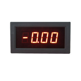 "Wholesale power supply tests - High Accuracy 0.56""Red LED Display DC Voltage Meter Voltmeter Can Test Positive And Negative Voltage 5V Power Supply"