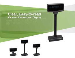 2019 n box tv 20 шт. / Коробка, USB POS VFD Cusotmer Pole Display 20 * 2 40 знаков для кассового аппарата, компьютера, 18 языков