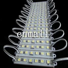 Wholesale Ip 66 - LED Module Light Lamp SMD 5050 IP 66 Waterproof LED Modules Sign Letters Back Light 6 led 1.5W 90lm DC12V Lights CE&Rohs