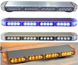 Wholesale Red White Strobe Lights - United Safe free shipping low profile GEN III 1 Watt LED strobe Lightbar,strobe lightbar,led strobe light bar(amber blue red white)ESM3525