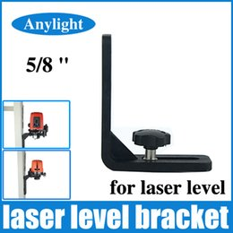 "Wholesale Super Lazer - Wholesale-5 8 ""laser level L-bracket leveling super strong iron magnet adsorption bracket for common lazer levels WAL29"