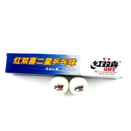 Wholesale Dhs Ball Star - Free Shipping, 30x DHS 2-star (2 star, 2star) 40mm White Table Tennis Balls for Ping Pong