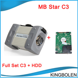 Wholesale Computer Diagnostic - MB Star C3 Professional Diagnostic tool for Benz MB compact 3 with HDD fits all computers Newest 2014.07 Software DHL Free Shipping