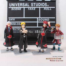 Wholesale Naruto Hidan - J.G Chen Anime Naruto Uzumaki Naruto Hidan Chouji Akimichi PVC Action Figures Collectible Model Toys Dolls 4pcs set