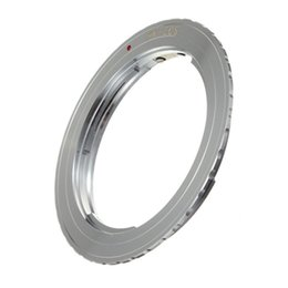 Wholesale Digital Adapter Ring - Metal Silver Camera Lens Mount Adapter Ring for Canon EOS EF 40D 600D 1000D 1100D 550D 5D Digital SLR order<$18no track