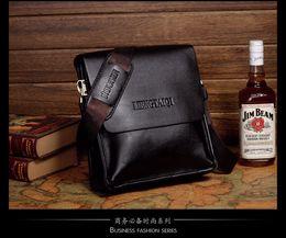 Wholesale Soft Pads Handle - HOT Whole sale clasic man briefcase laptop bag I pad bag Genunie leather vertical soft cowhide shoulder bag casual bag man messenger bag