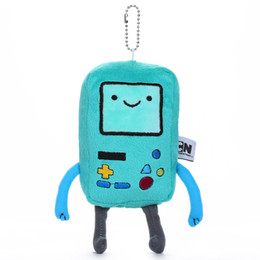 "Wholesale Beemo Plush - Wholesale-Adventure Time BMO Beemo Plush Toy Soft Stuffed Doll 7"" 18CM Free Shipping ANPT256"