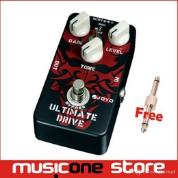 Wholesale Pedal Ultimate - JOYO JF-02 Ultimate Drive Overdrive Guitar Effect Pedal Free shipping MU0002