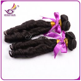 Wholesale Spiral Curls Hair Extensions - Double Drawn 6A Nigerian Aunty Funmi Hair Unprocessed Peruvian Virgin Hair Spiral Curls 100% Human Hair 3 PCS Bouncy Curls Hair Extension