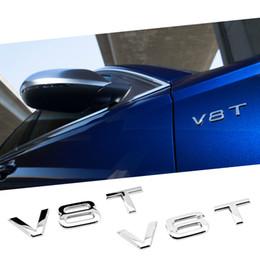 V6T / V8T Emblème Badge FIT AUDI A1 A3 A4 A5 A6 A7 Q3 Q5 Q7 S6 S7 S8 S4 SQ5 ? partir de fabricateur