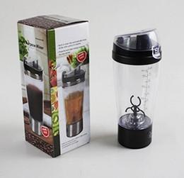 Wholesale Portable Drink Mixers - 16 oz Tornado Portable Drink Mixer Mug Protein Shaker Hand Held Battery Blender