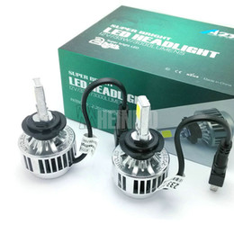 Wholesale H7 Led Kit - 33W H7 CREE HEADLAMP h1 h3 LED Headlight Headlamp Auto Conversion Car LED Kit 3000LM COB Lamp Bulb Light H8 H9 H11 HB3 HB4 9005 9006 WHITE