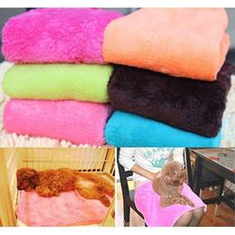 Wholesale Dog Blankets Sale - Hot Sale Superior Practical Soft Warm Pet Dog Cat Fleece Blanket ! ! ! Free Shipping E5M1