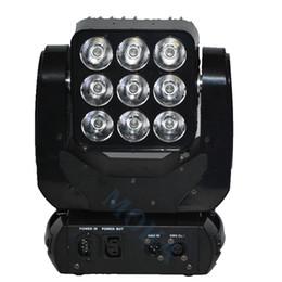usa mk UK - Moka MK-M25 2pcs lot 3*3 RGBW Matrix Moving Head Light Matrix Blinder Stage Light DJ Stage Light with Flight Case