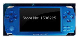Wholesale Mp5 Game Player Android - free shipping 8GB 4.3' LCD screen Handheld Game Players MP5 Console free support psp game,camera,video,e-book,music player choice