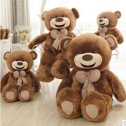 Wholesale Giant Stuffed Bears For Sale - Hot Sale Birthday Gifts 80cm Giant Teddy Bear Plush Doll Perfect Giant Stuffed Teddy Bear Gifts For Girl Friend Kids