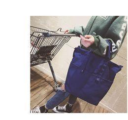 Wholesale Canvas Bucket - New arrival women canvas handbag big size shoulder bag preppy style wholesale pride bag free shipping bag