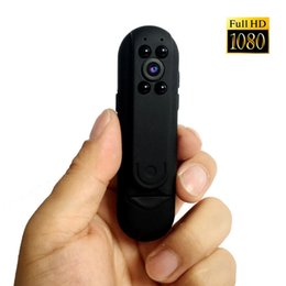 Wholesale minidv recorders - HD 1080P Wide Angle night vision Mini Site Law Enforcement Video Recorder DV Camera Camcorder Motion Detection