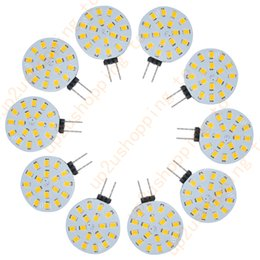 Wholesale Car Spotlights Prices - 10pcs G4 18 2835 SMD LED Car RV Boat Light Lamp Bulb Warm White Energy Saving 12V for good price free shipping