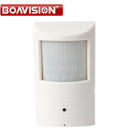 Wholesale Ip Camera Motion Detector - PIR STYL Motion Detector 25fps HD H.264 1080P 2mp Hidden IP Camera with poe Onvif P2P Plug and Play Security Network Camera