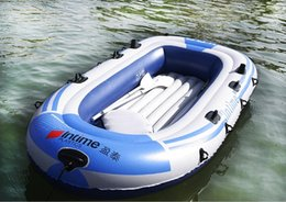 Wholesale Rubber Inflatable Boats - High quality Rubber boat inflatable sampan Brand:INTIME 4 people