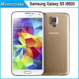 Галактика s5 quad core онлайн-Восстановленное в Исходном Samsung Galaxy S5 G900F G900A G900T Quad Core 16 ГБ ROM 4 Г LTE Сотовый Телефон