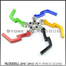 Wholesale Dirt Bike Cnc - Good Quality CNC kick start lever Lightning shape for dirt bike & pit bike use (13mm) 50cc - 160cc