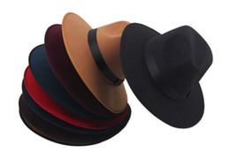 Wholesale winter vintage felt hat - Wholesale-Fashion Vintage Autumn Winter Men & Women Knight Woolen Wool Felt Bowler Hat cowboy Warm Bucket Hats & Caps Retro Topper