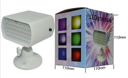 Wholesale Mini Voice Change - 48 LED mini voice-activated strobe light bar ktv Flash Strobe Light Stage Laser Light