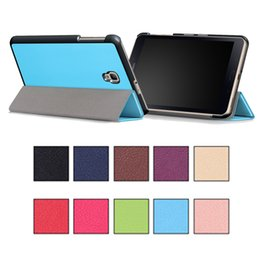 "Wholesale Galaxy Sleep Wake Case - Tablet PC Pad Cases Auto Sleep Wake Skin Magnetic Folding Kickstand For Samsung TAB A S3 9.7"" 10.1"" 10 Solid Colors"