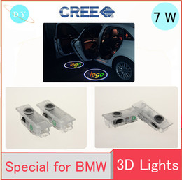 Wholesale Door Step Led - car Emblem Laser Lamp LED Car Door Step Ghost Shadow Welcome Projector Light Lamp FOR BMW E60 E90 E92 E64 X5 E70 X6 E71 M3 M5 De