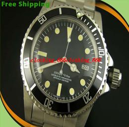 Wholesale Men Mechanical Watches Vintage - Factory Supplier Luxury Men Watches Brand New seaweller Vintage 1665 Great White(Alternative V) Automatic Men's Watch