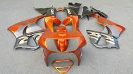 Wholesale 98 Honda - Fairing kit for HONDA CBR900RR 98 99 CBR 900RR CBR900 CBR 900 RR 919 1998 1999 orange grey black Fairings set+7gifts HG87