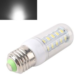 Wholesale Corn Cover 8w - Wholesale-2015 E27 8W 36 LED 5630 SMD Cover Corn Spotlight Light Lamp Bulb Warm Pure White LLBA #51415