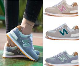 Wholesale Black N Tan - Women's Fashion Sneakers sports Casual shoes Free shipping N sneakers B men and women shoes size 35-44