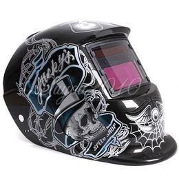 Wholesale Arc Auto - Solar Auto Darkening Welding Helmet ARC TIG MIG Weld For Welder Lens Grinding Mask Free Shipping
