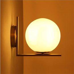 Wholesale Michael Glasses - Replica Item 2017 New lights IC LIGHTS C W Lighting IC light family G9 LED Ball Globe Michael Anastassiades Wall lamp frosted glass