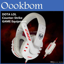 Wholesale Somic Gaming - SOMiC G923 WCG Professional Gaming Headphones Computer Voice Headset With Microphone Retail Package For DOTA 2 LOL CS Online PC Gaming