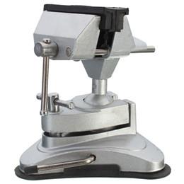 Herramientas de tallado de sellos online-Nueva llegada Chuck Alloy Vientiane Bench Vise Vice Clamp Stamp Talla herramientas de sujeción Orden de la mano $ 18no pista