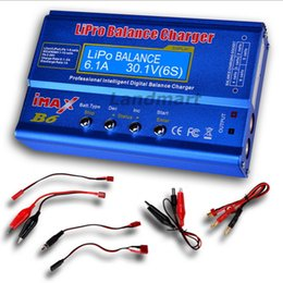 Wholesale Rc Battery Charger Nicd - Details about IMAX B6 Digital LCD Screen RC Lipo NiMh NiCD Battery Balance Charger Discharger