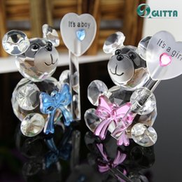Wholesale Pacifier Baby Shower Favor - Wholesale- Wedding Party Favor Crystal baby shower Gifts,Artificial Crystal Pacifier keychain,Girl Boy Baby Shower Christening Favors