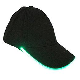 Wholesale Glow Dark Sun - Hot Sale Unisex LED Gadget Baseball Cap Party Hat With Light Sun Hat Glow In The Dark Luminous Cap